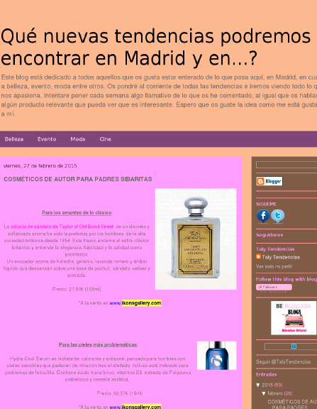 Madrid Tendencias